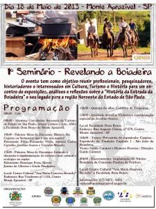 1° Seminário – Revelando a Boiadeira