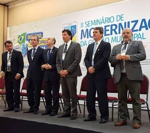 JURA PARTICIPA DE SEMINÁRIO INTERNACIONAL SOBRE MODERNIZAÇÃO DA GESTÃO MUNICIPAL
