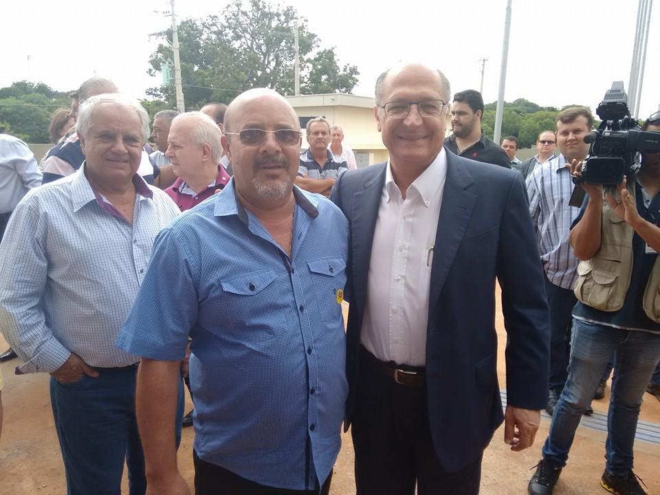PRESIDENTE JURA ACOMPANHA O GOVERNADOR GERALDO ALCKMIN EM VISITA NA REGIÃO