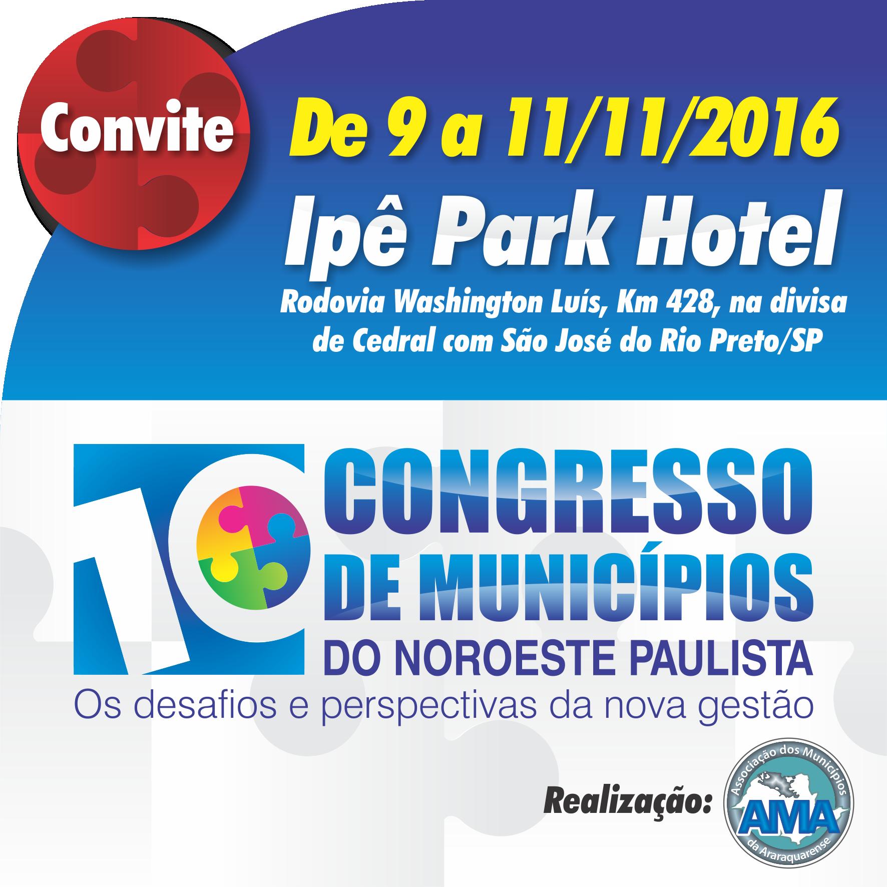 X CONGRESSO DA AMA COMEÇA QUARTA-FEIRA, EM RIO PRETO