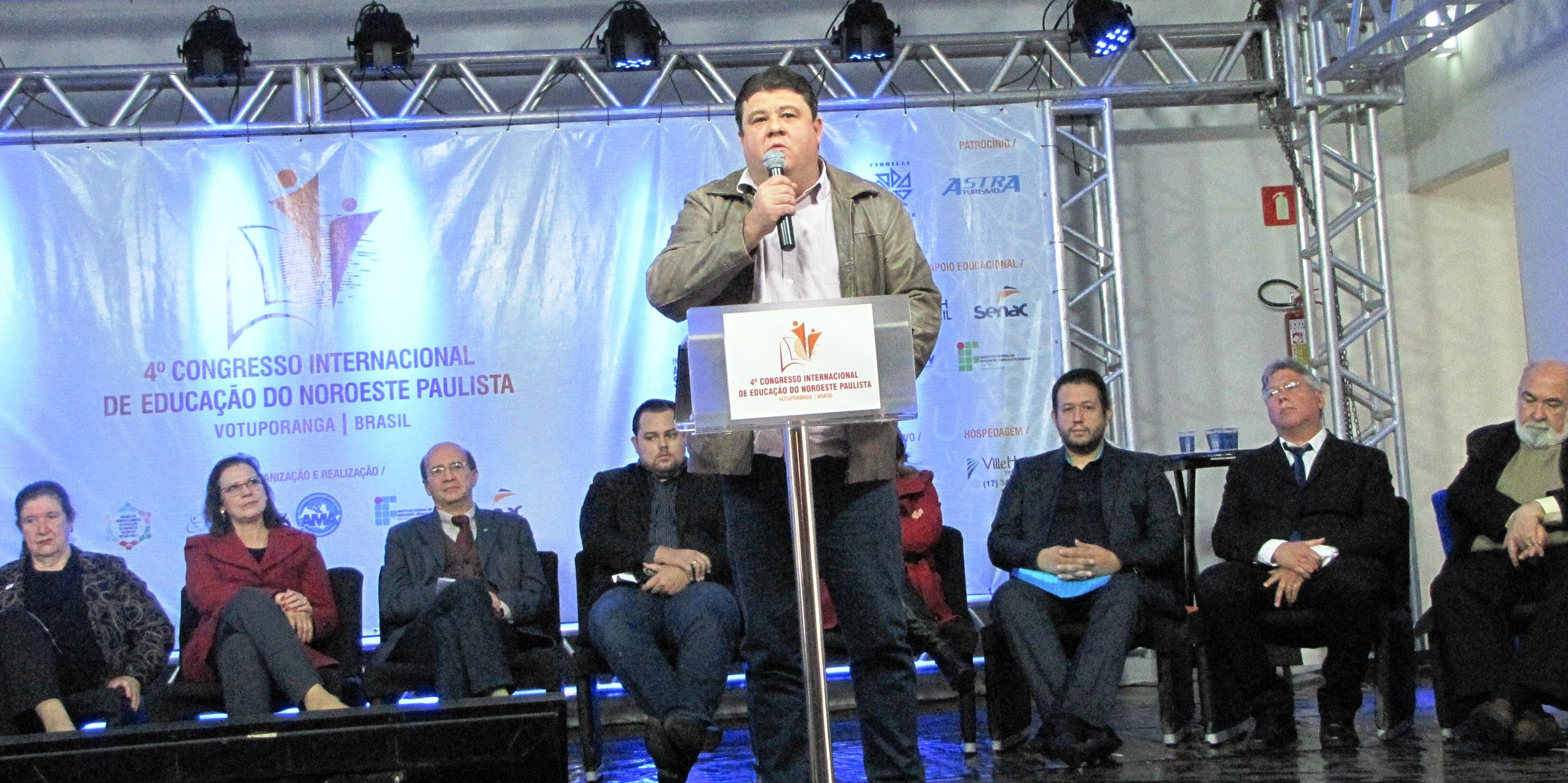 AMA DESTACA A IMPORTÂNCIA DO 4º CONGRESSO INTERNACIONAL DE EDUCAÇÃO