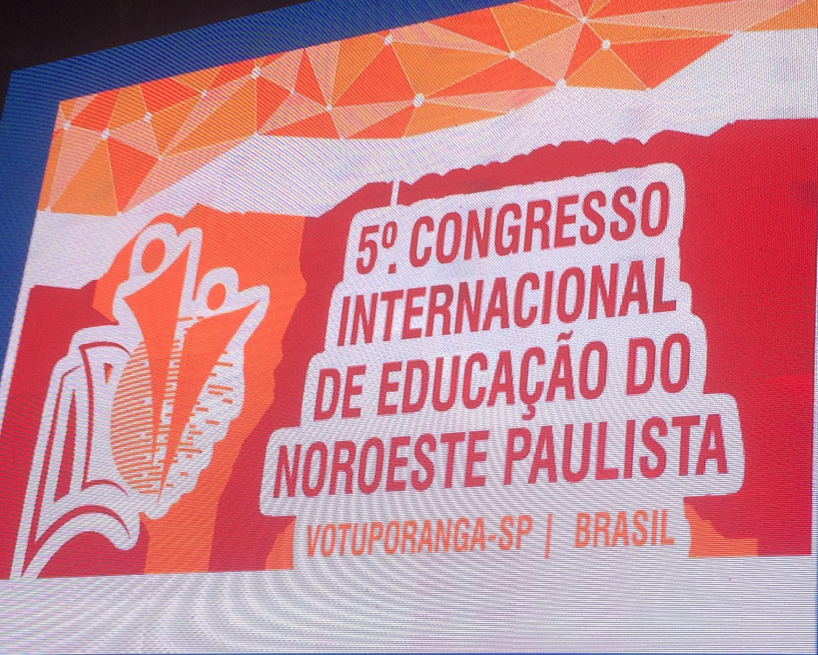 5º CONGRESSO INTERNACIONAL DE EDUCAÇÃO DO NOROESTE PAULISTA